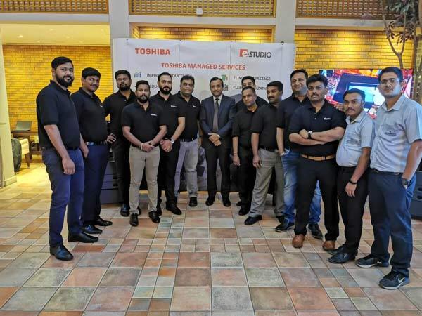Toshiba Roadshow Event Hosted at the Fairmont Hotel, Dubai, UAE