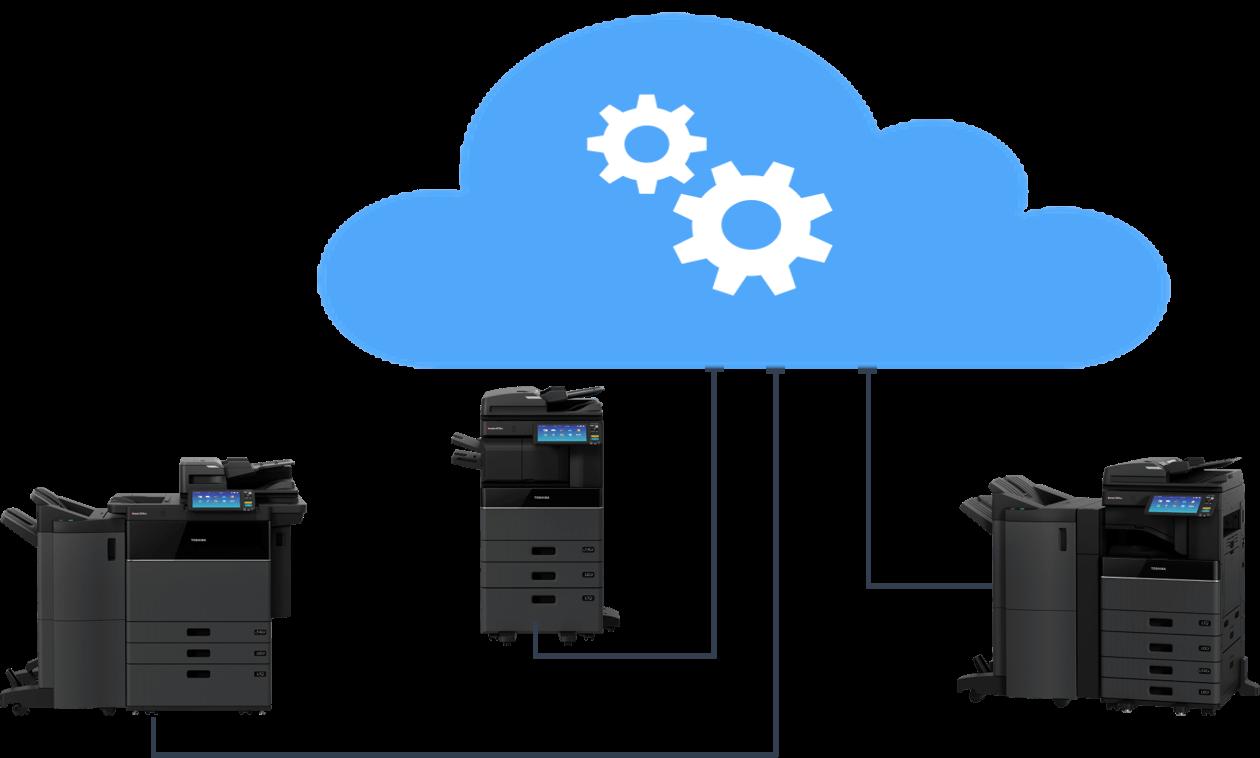 Proactive service with Toshiba e-Bridge Cloud Connect